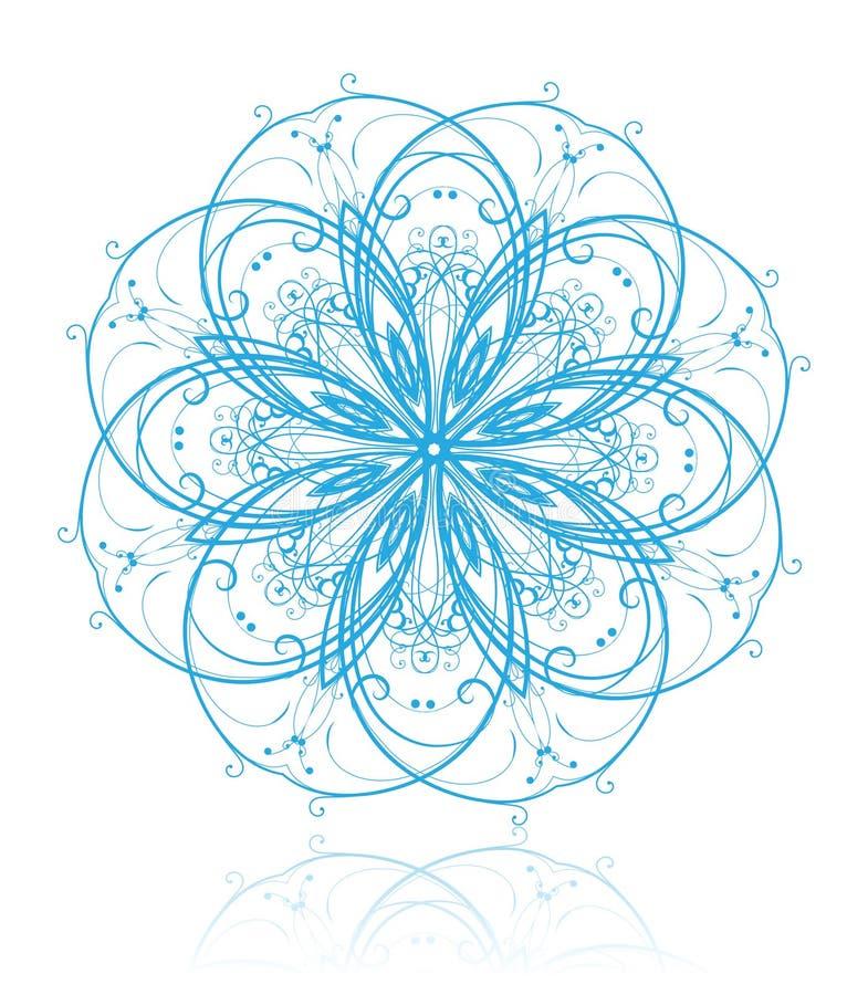 Download Élément floral illustration de vecteur. Illustration du nature - 8671317