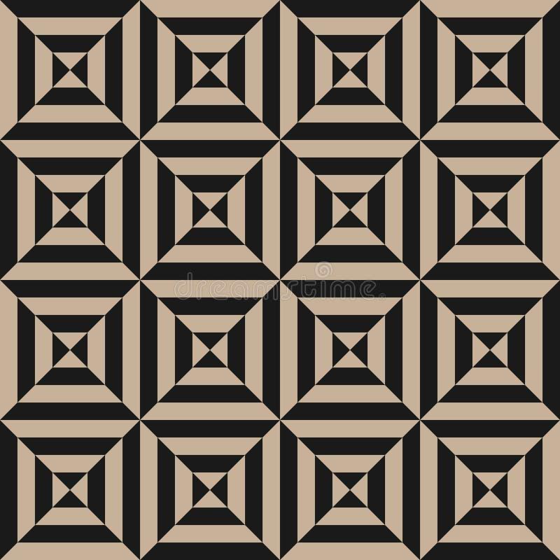 Élément géométrique, calibre de conception avec les lignes inclinées diagonales noires rayées illustration stock