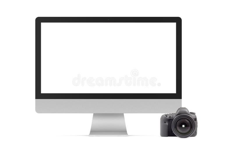 Élément graphique de l'appareil photo numérique et de l'appareil photo numérique photographie stock libre de droits