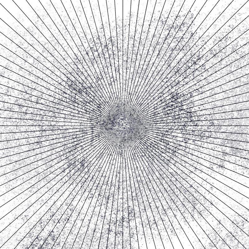 Élément grunge rond gris mol de recouvrement Modèle de cercle, logo, insigne, label, icône Contexte abstrait de texture de détres illustration libre de droits