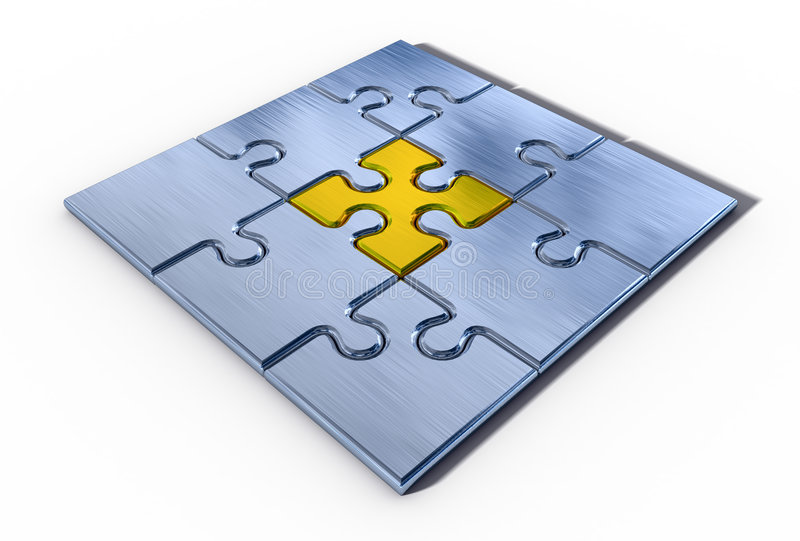 Download Élément Important De Puzzle Illustration Stock - Illustration du tige, ajustement: 8666443