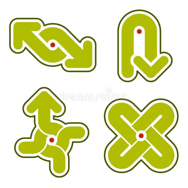 Éléments 31i de conception illustration de vecteur