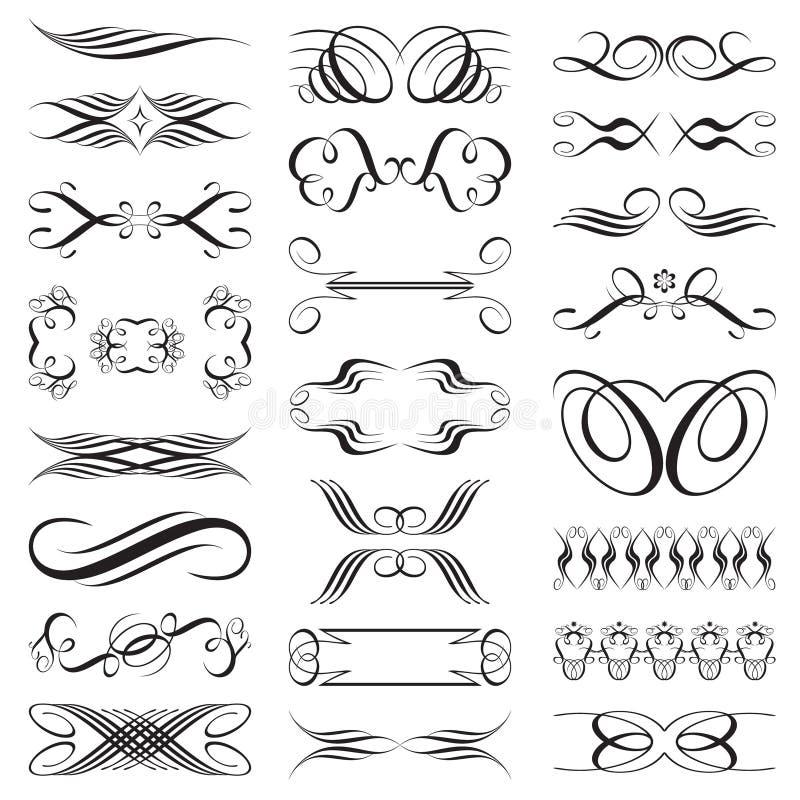 Éléments illustration stock