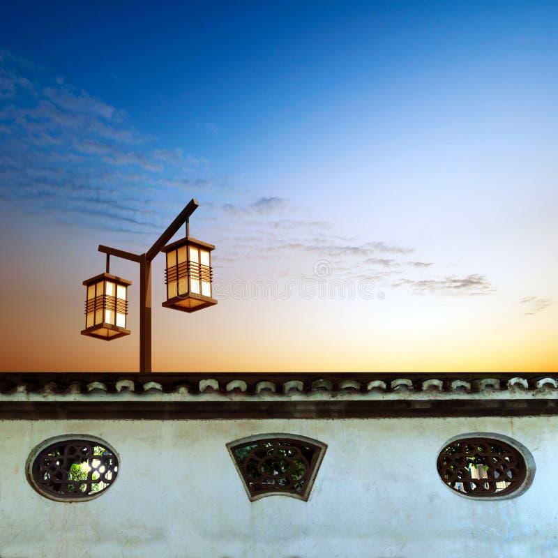 Éléments architecturaux classiques chinois photographie stock