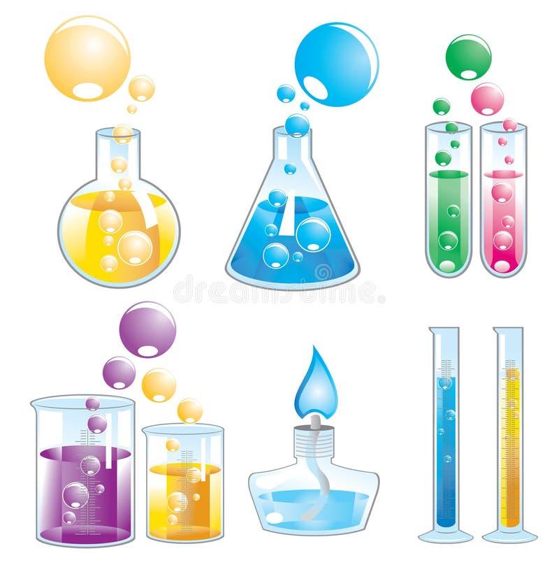 Éléments chimiques illustration libre de droits