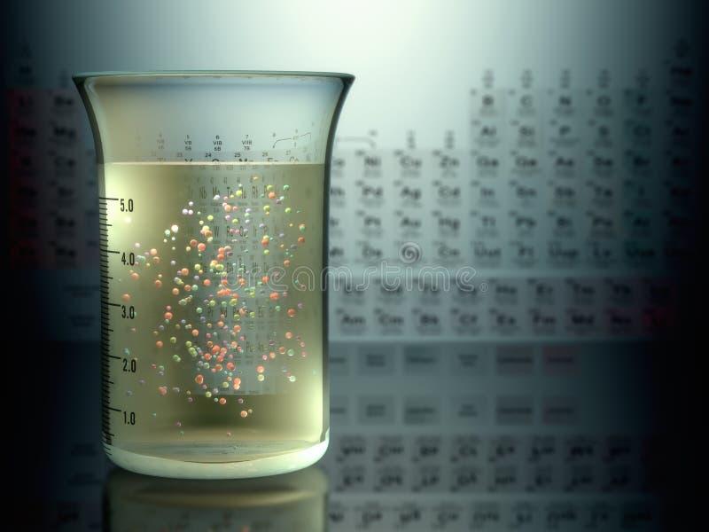 Éléments chimiques illustration de vecteur