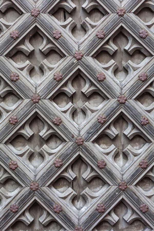 Éléments d'église historique - Danzig, Pologne photo libre de droits