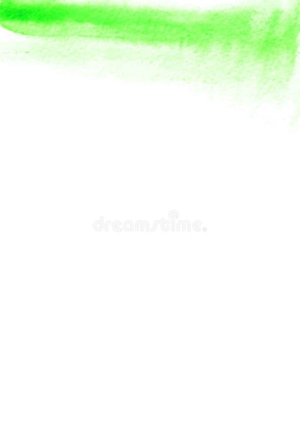 Éléments d'aquarelle pour la conception Peinture abstraite Texture de peinture de main, contexte texturisé Rose de Teal Blue et d illustration libre de droits