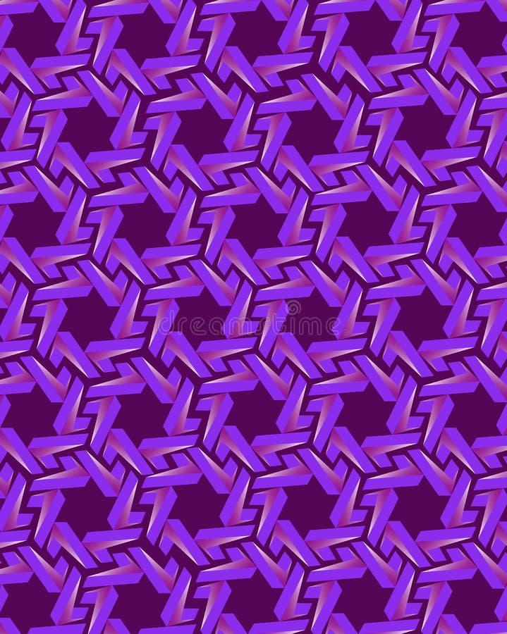 Éléments d'engrenage bleus sur le fond violet foncé illustration libre de droits