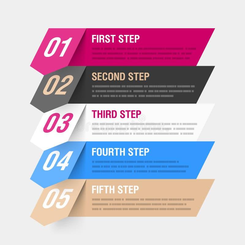 Éléments d'Infographics illustration stock