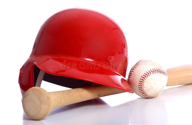 Éléments de base-ball photographie stock