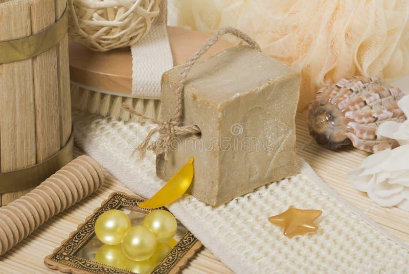 Éléments de Bath photos stock