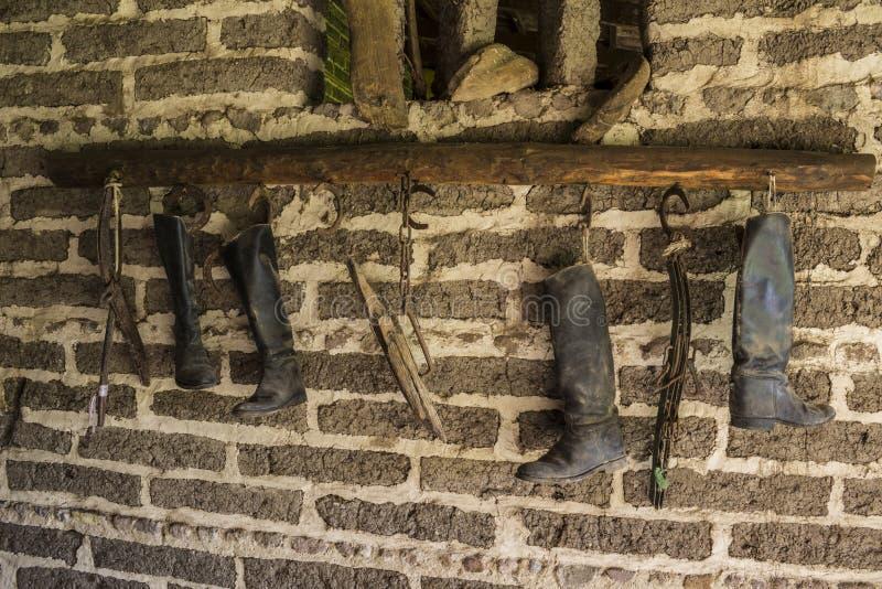Éléments de cavalerie stable photo libre de droits
