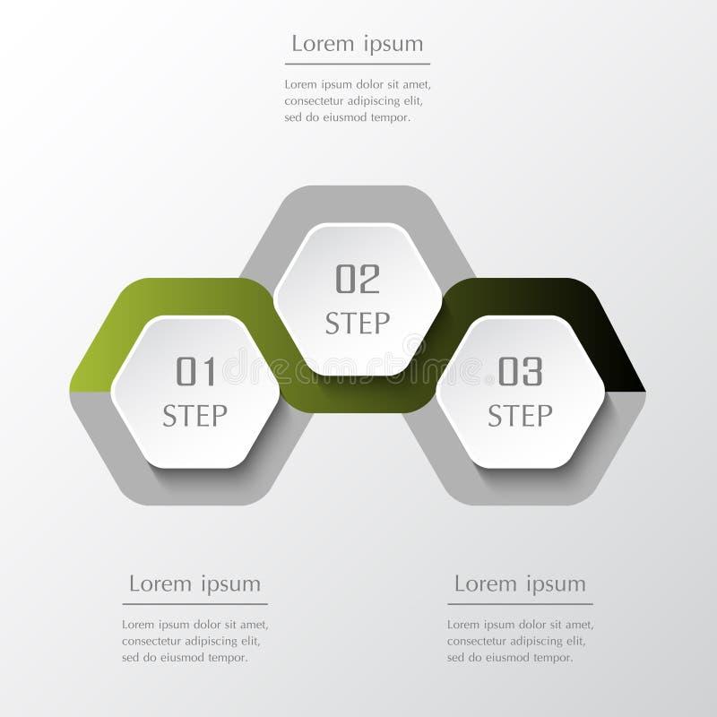 Éléments de conception d'Infographic pour vos affaires illustration de vecteur