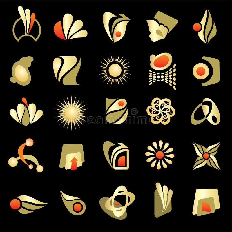 Éléments de conception de logo illustration libre de droits