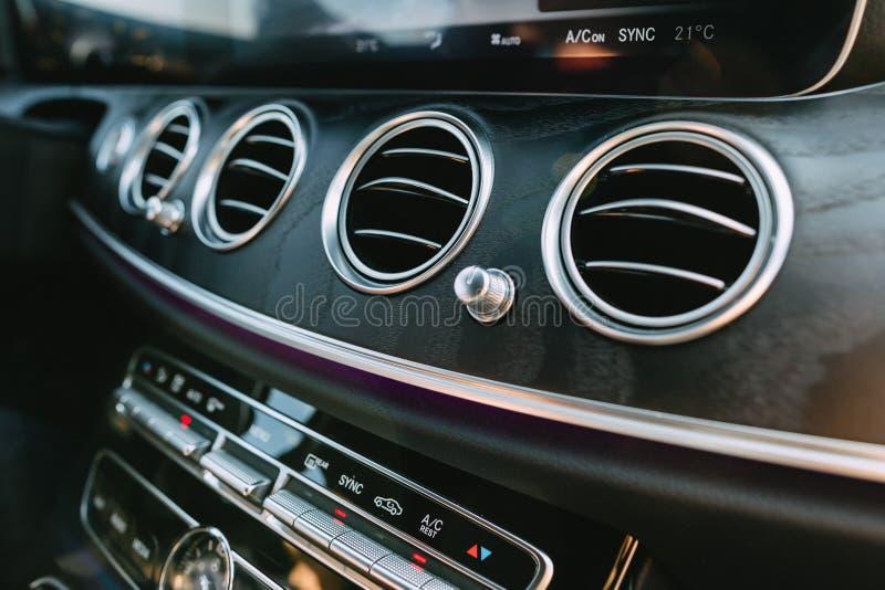 Éléments de conception moderne de la voiture photographie stock