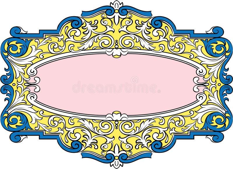 Éléments de décoration de vecteur illustration de vecteur