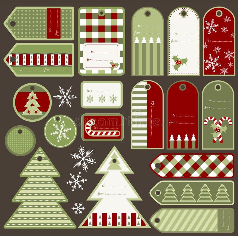 Éléments de Noël photos stock