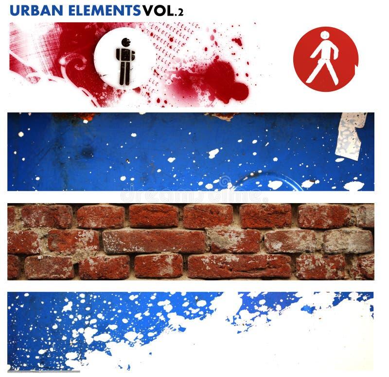 Éléments graphiques urbains 2 illustration stock