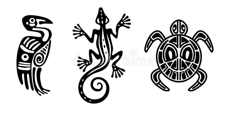 Éléments indiens de conception illustration de vecteur
