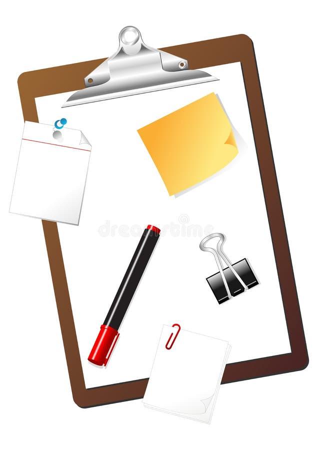 Éléments stationnaires illustration stock