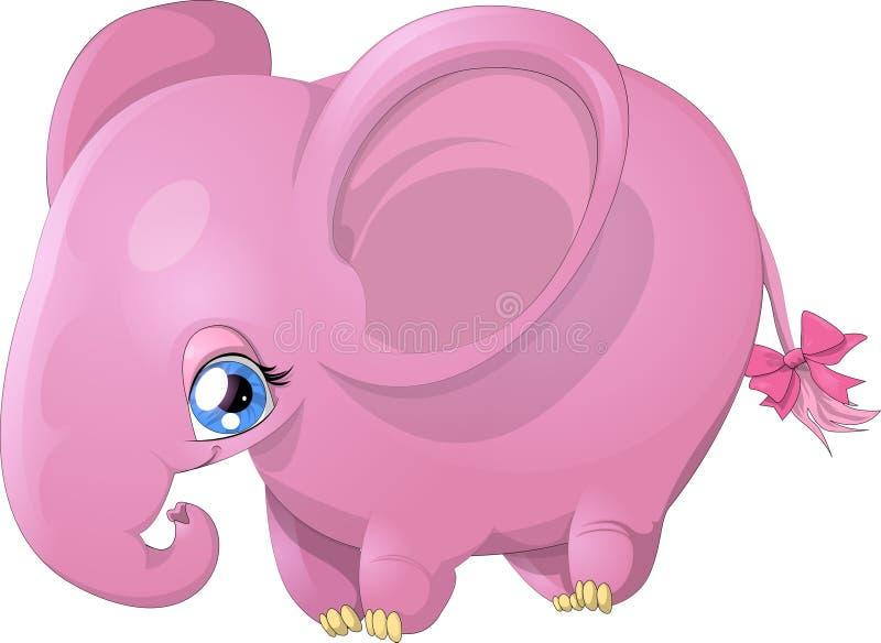 Éléphant de cinglement illustration stock
