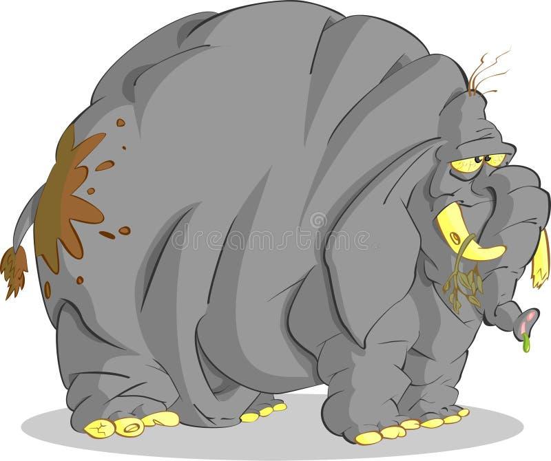 Éléphant de Sloven illustration de vecteur