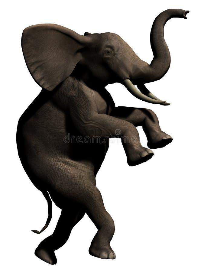 Éléphant Furtif Photo libre de droits