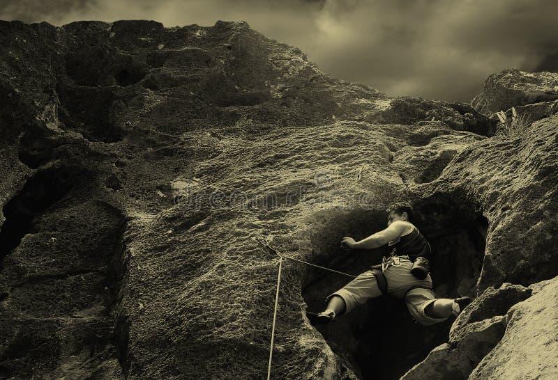 Élévation sur des roches. photos libres de droits