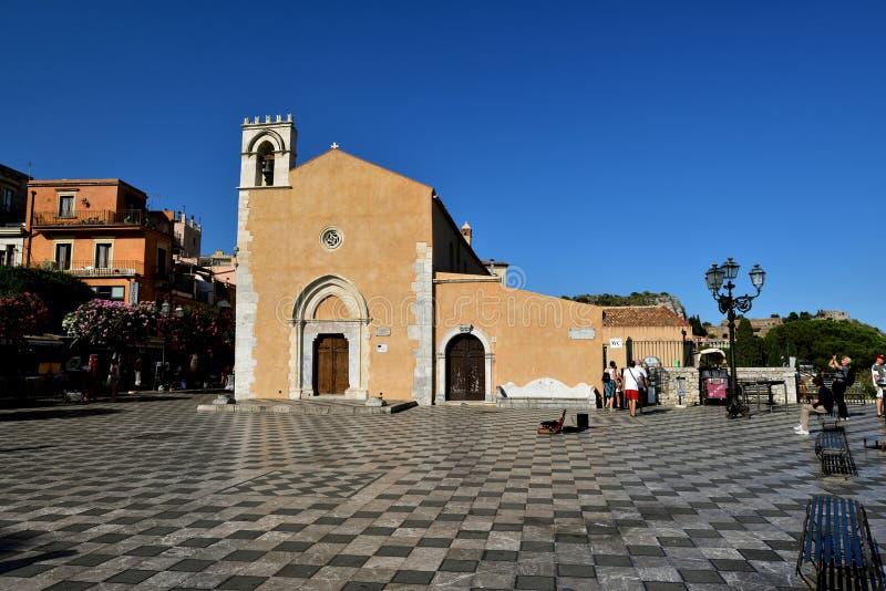 Él iglesia de St Augustine imagenes de archivo