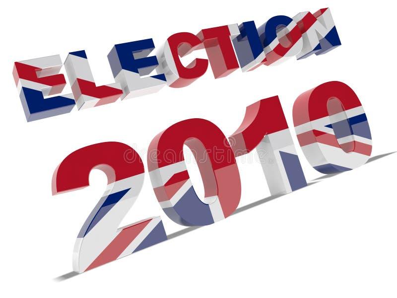 Élection 2010 illustration libre de droits