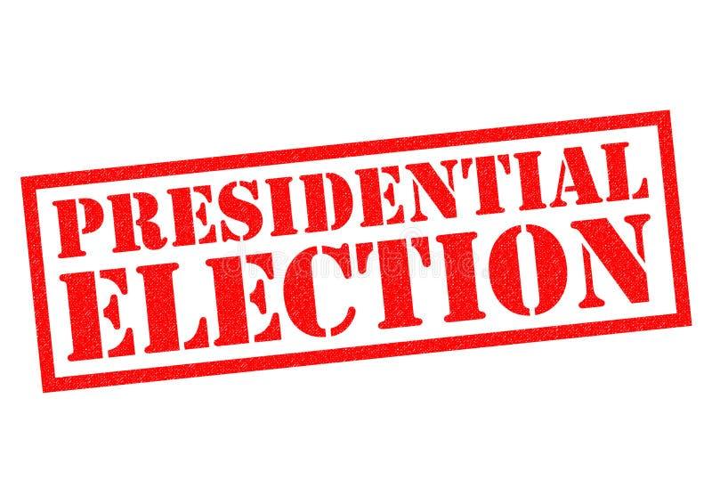 Élection présidentielle illustration de vecteur