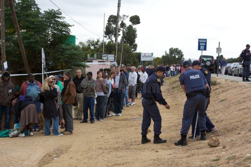 élections africaines du sud photographie stock