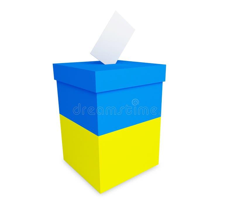 Élections en Ukraine illustration de vecteur