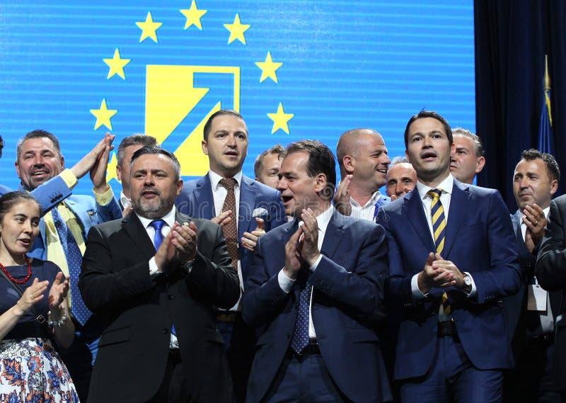 Élections nationales de parti libéral - Roumanie photo libre de droits