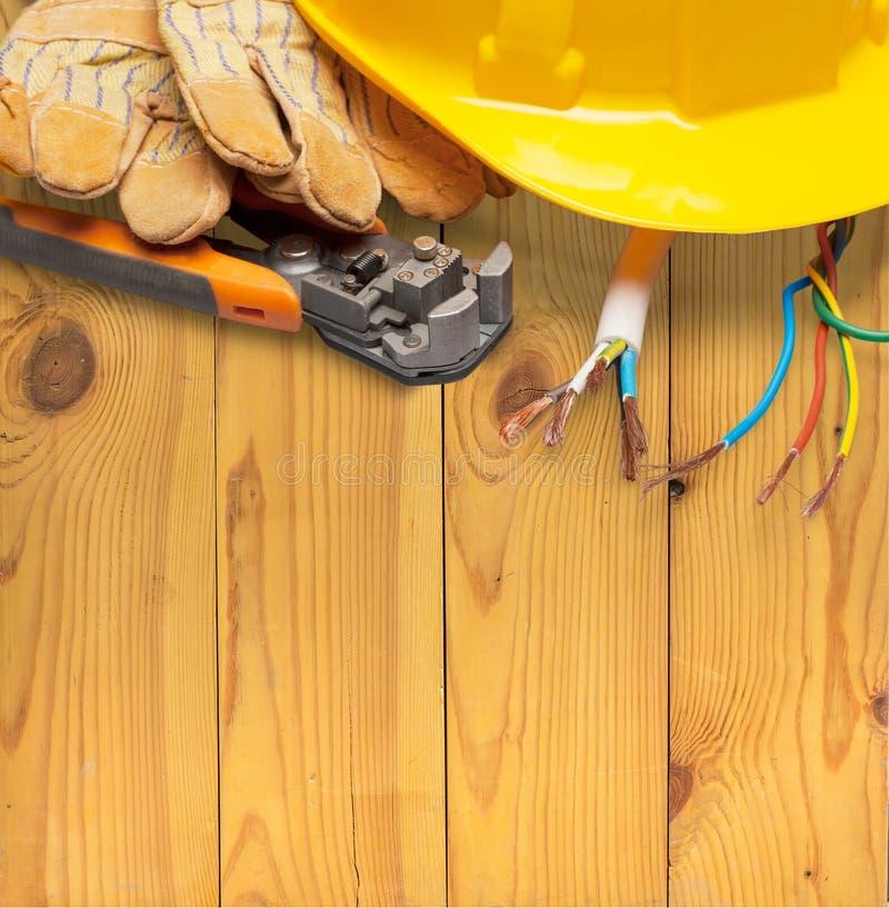 électricien photo libre de droits