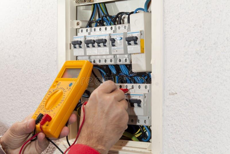 Électricien photo stock