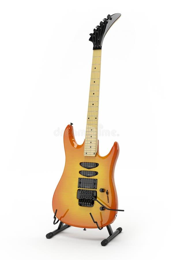 Électro guitare 1 illustration de vecteur