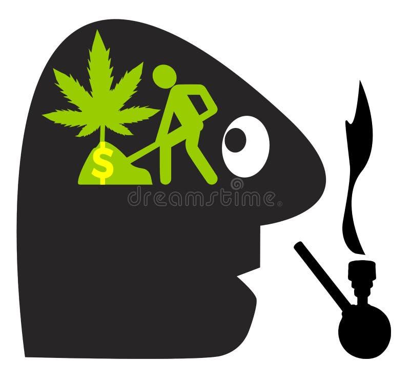 Élevage de votre propre cannabis illustration de vecteur