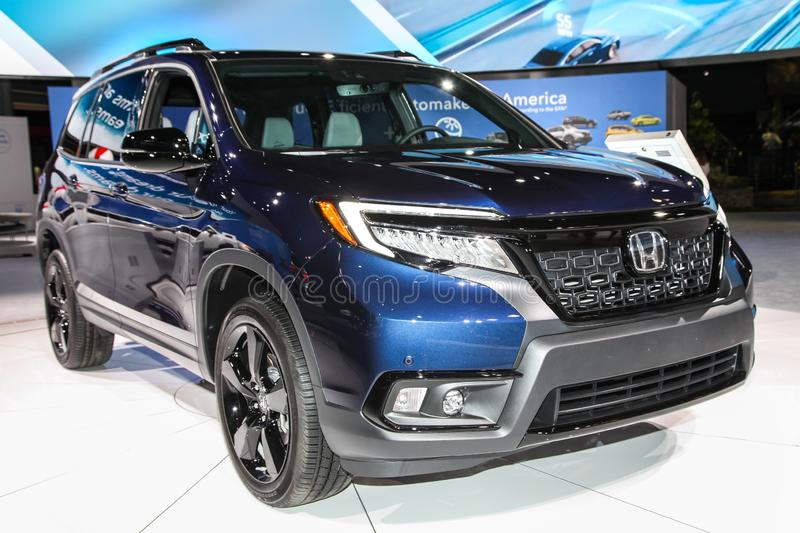 ?lite de Honda Passport images stock