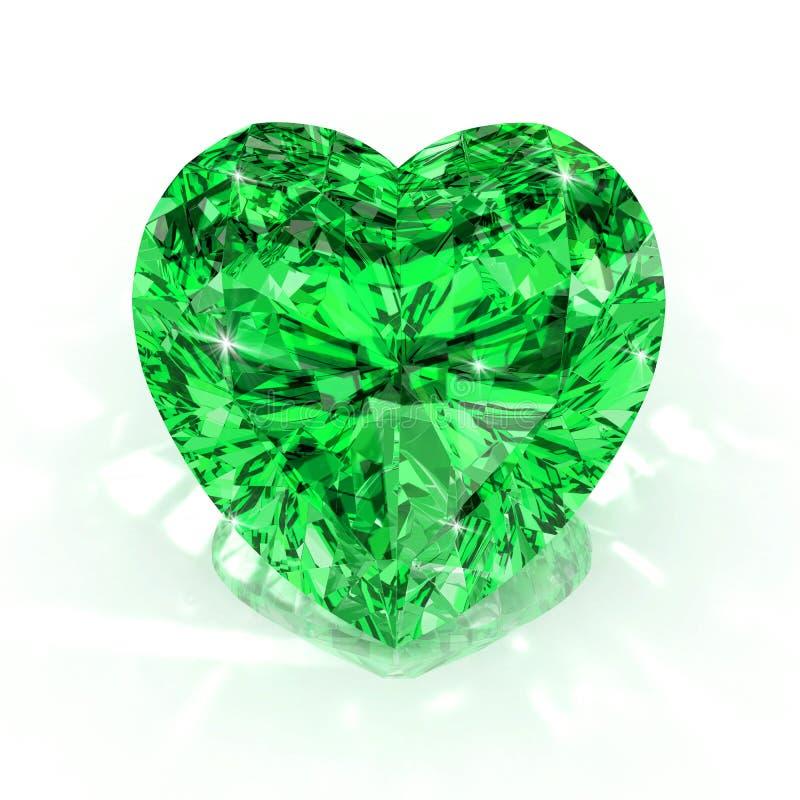 Meraude de forme de coeur image stock image du bijou - Images coeur gratuites ...