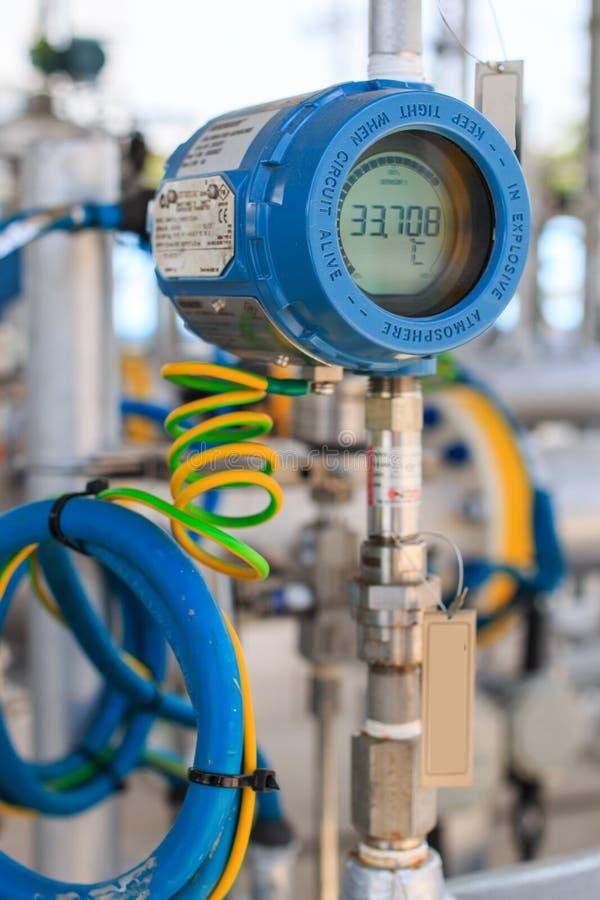 Émetteur de la température photographie stock libre de droits
