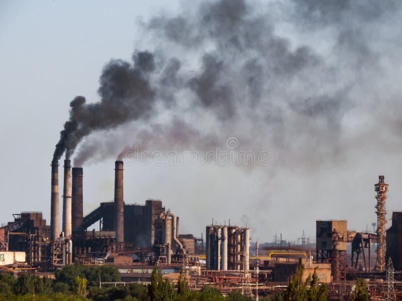 Émissions de polluants de l'air photos libres de droits