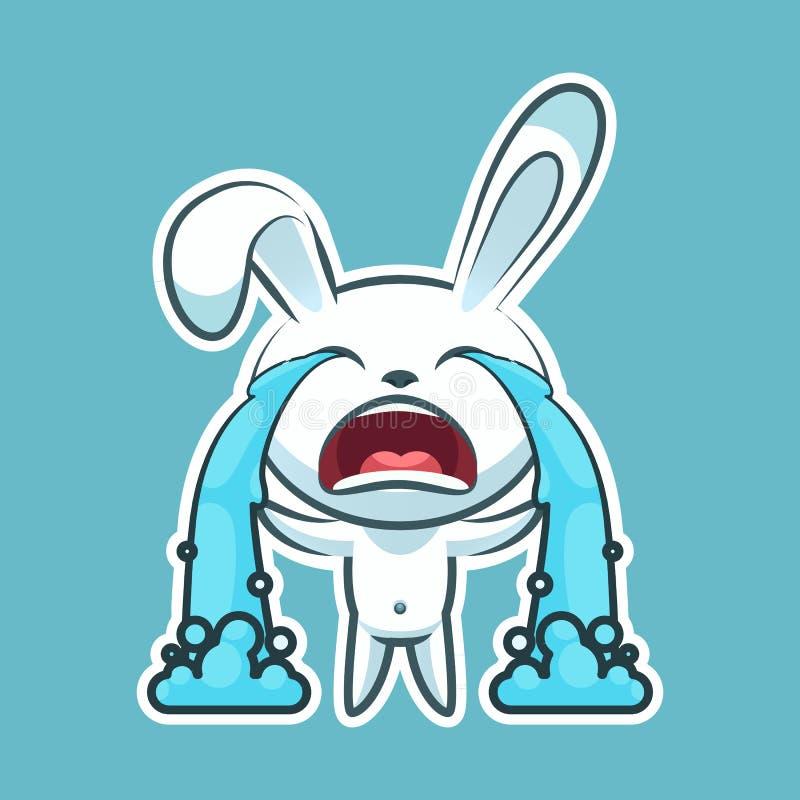 Émoticône d'emoji d'autocollant illustration libre de droits