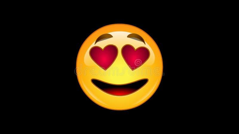 Émoticônes : 4 emojis - paquet 2 de 6 - - loopable - canal alpha animé banque de vidéos