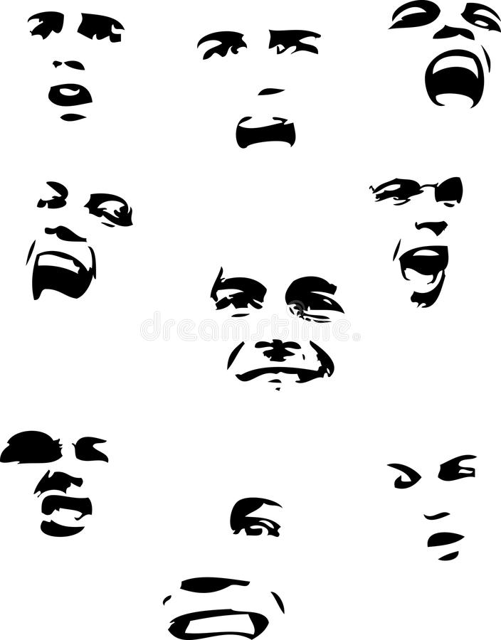 émotion illustration stock