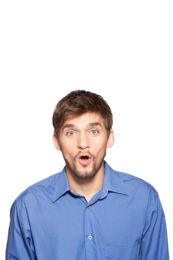 Émotion d'homme d'affaires photos stock