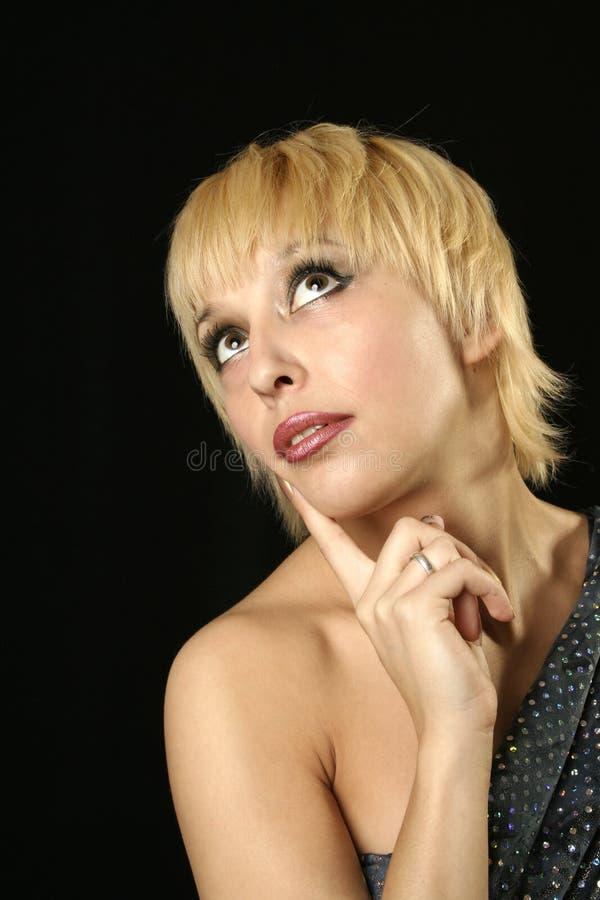 Émotion de femmes photos stock