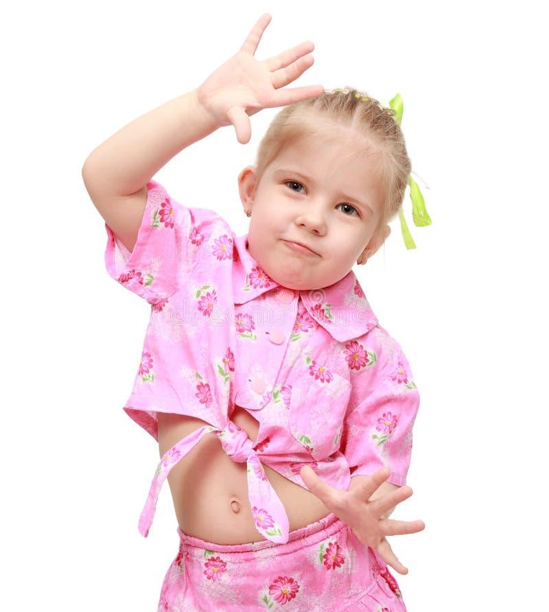 Émotions de danse photo libre de droits