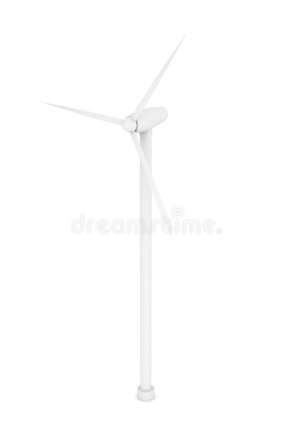 Énergie éolienne illustration stock